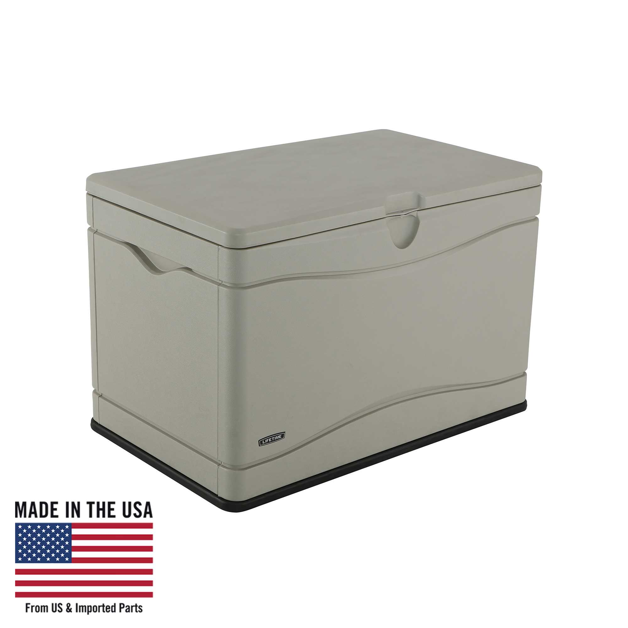 Lifetime Heavy-Duty Outdoor Storage Deck Box (80 Gallon), 60059