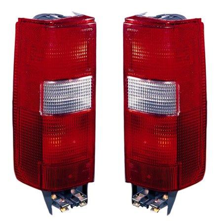 Pair Volvo 850 V70 Wagon Taillight Taillamp Brake Light Lamp Left Right Side Set Volvo 850 V70 Wagon