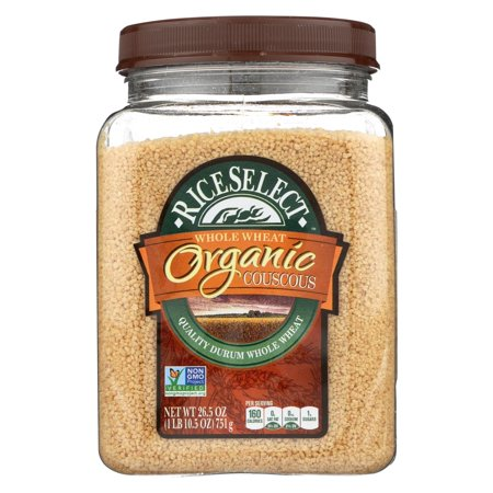 Rice Select Whole Wheat Couscous - Organic - Pack of 4 - 26.5 Oz.