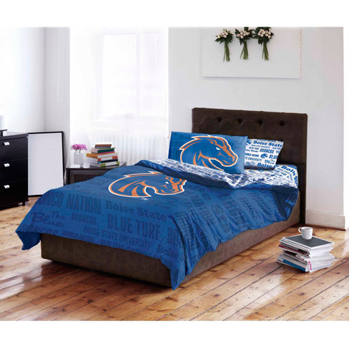 NCAA Boise State University Broncos Bed in a Bag Complete Bedding Set