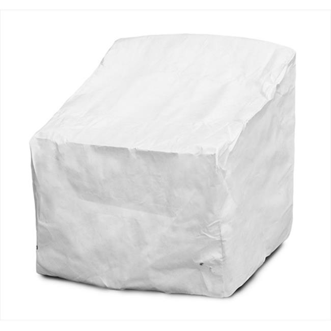 KoverRoos 29801 DuPont Tyvek Deep Seating Chaise Cover, Blanc - 27 W x 31 D x 31 H. - image 1 de 1