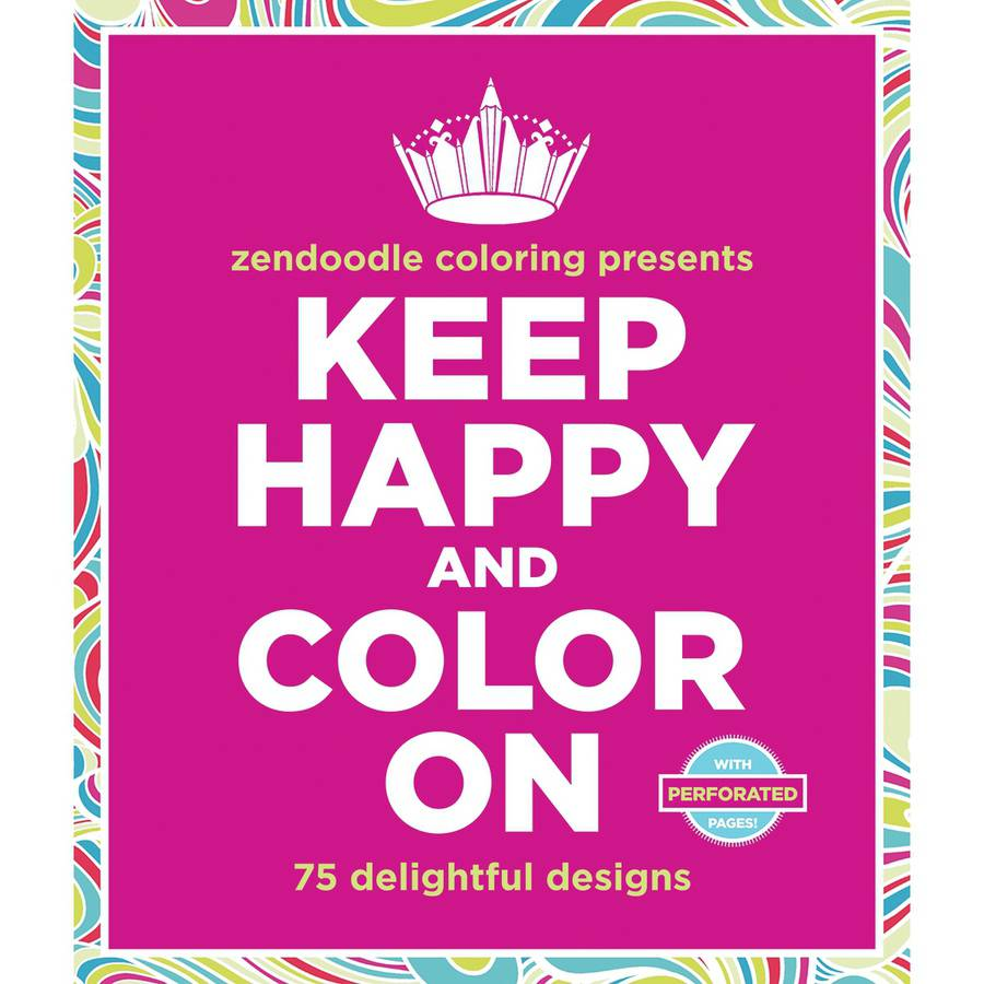 St. Martin's Books-keep Happy And Color