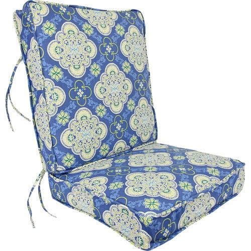 Jordan Manufacturing Outdoor Deep Seating Cushion, Multiple Patterns
