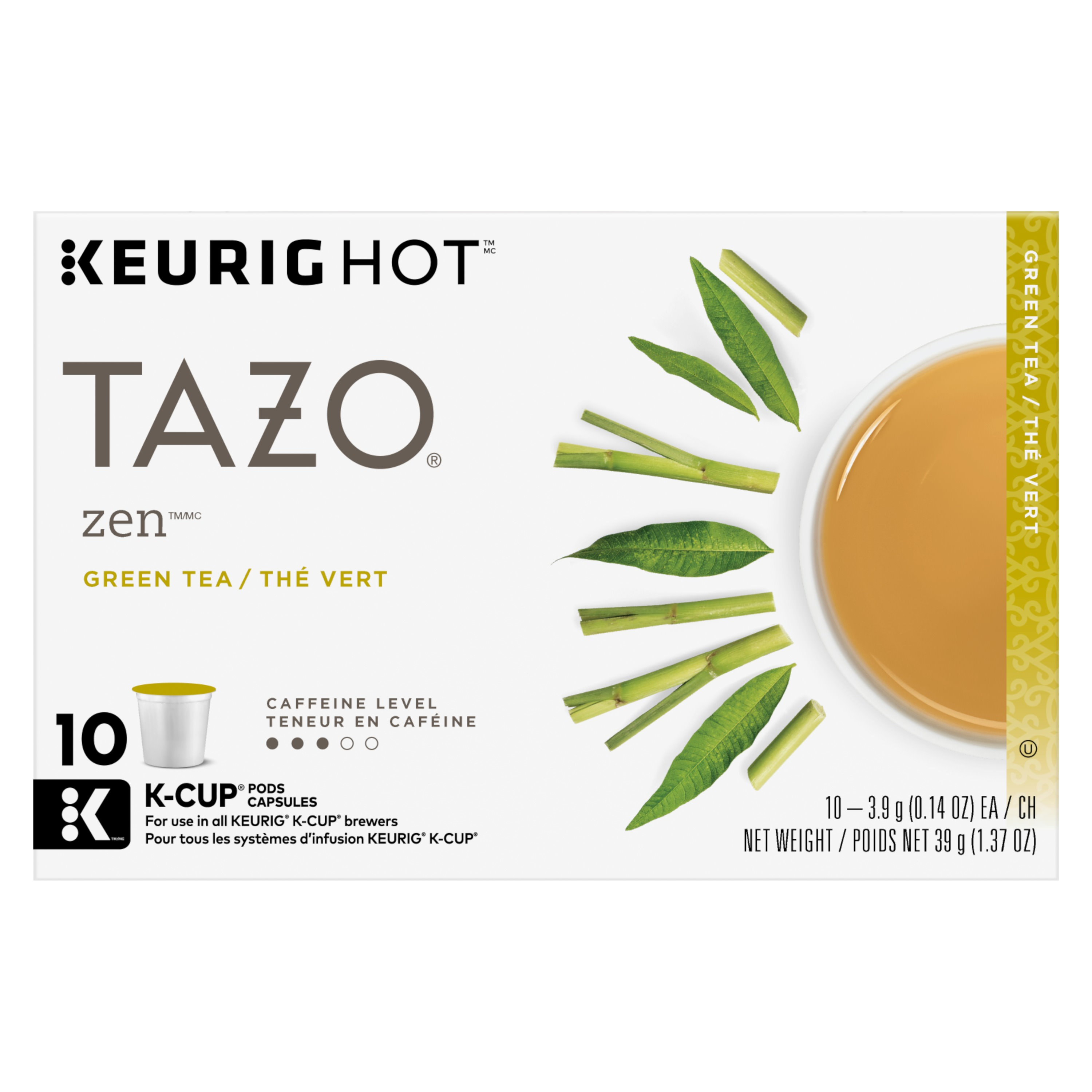 Tazo Zen Green tea K-Cups 10ct