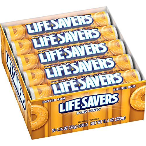 Lifesavers Life Savers Butter Rum Hard Candy, 1.14 ounce ...
