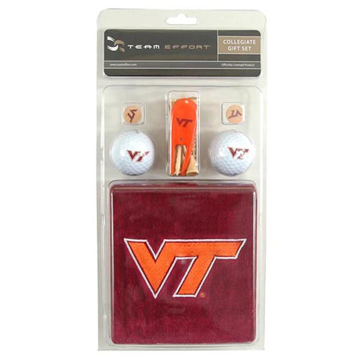 Virginia Tech Hokies Collegiate Golf Gift Set
