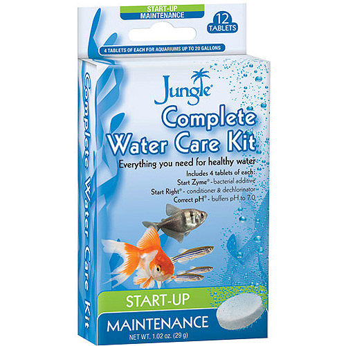 Jungle Complete Water Care Kit, 12ct