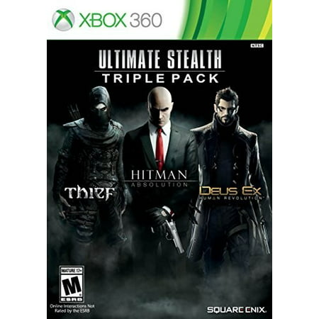 Triple Action System (Ultimate Action Triple Pack, Square Enix, Xbox 360, 662248916279 )