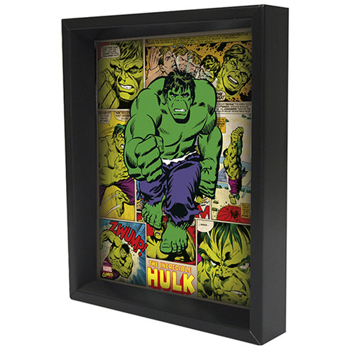 Pyramid America 'Hulk' Framed Graphic Art Print