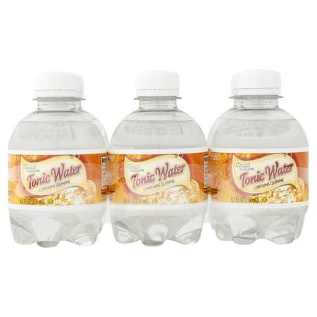 ((12 Bottles) Great Value Tonic Water, 8.5 Fl Oz)