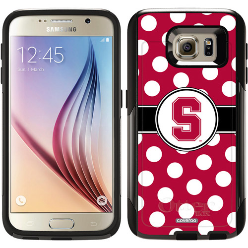 Stanford University Polka Dots Design on OtterBox Commuter Series Case for Samsung Galaxy S6