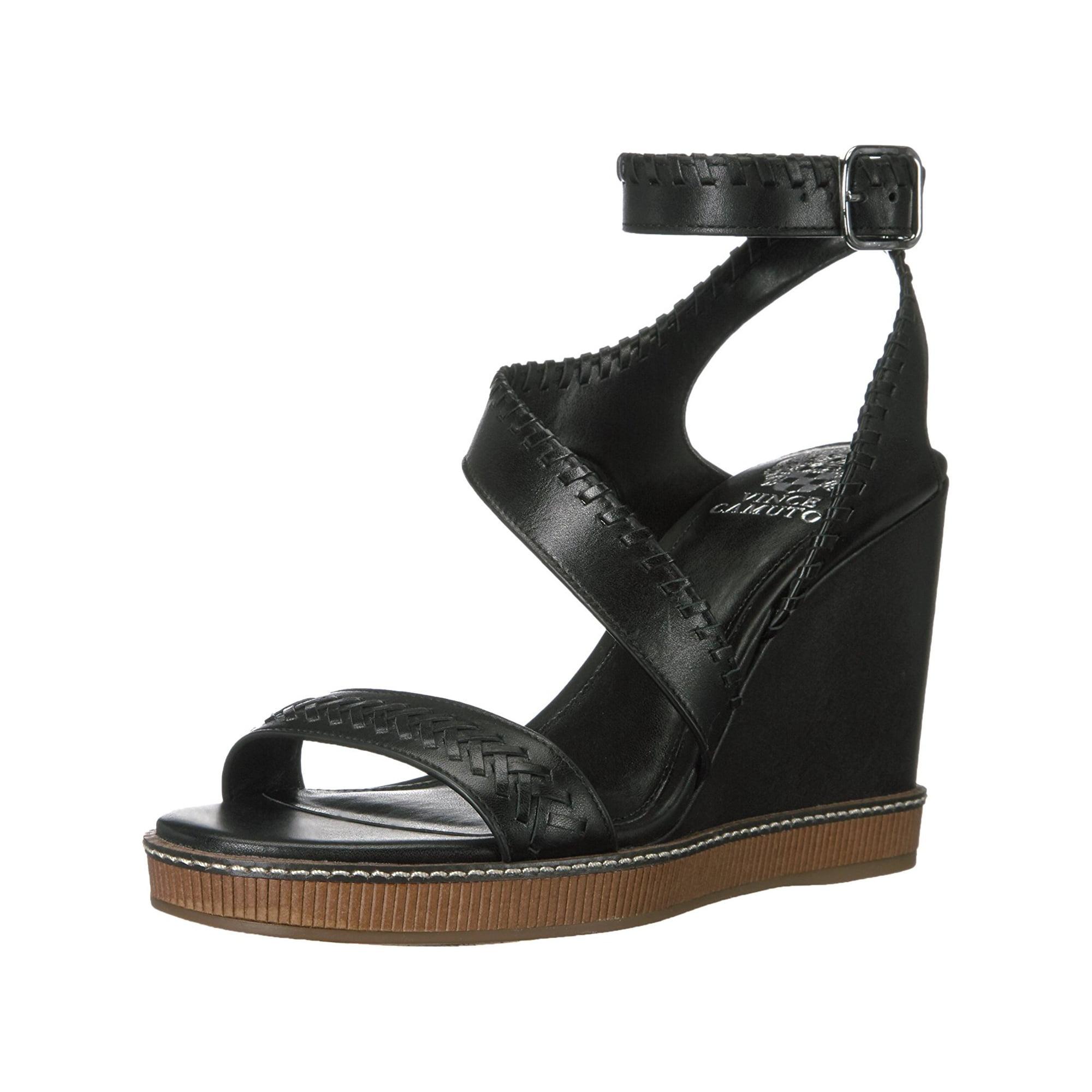 2d335ed2a951 Vince Camuto Womens Ivanta Leather Open Toe Casual Platform ...