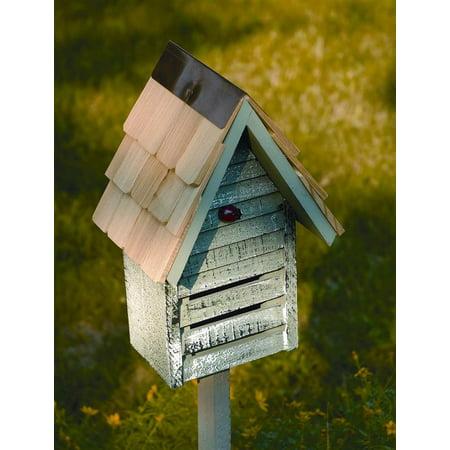 Lady Bug Loft Lady Bug House in Grey Whitewash