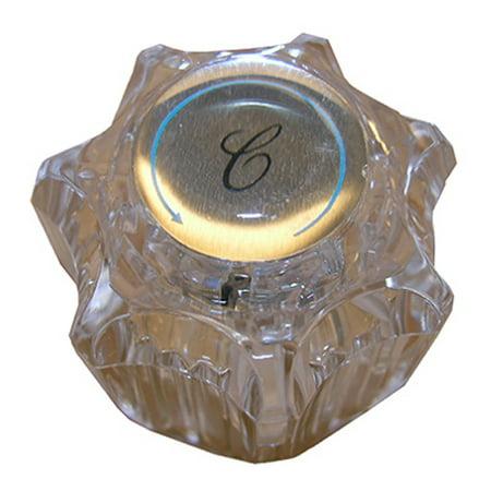LARSEN SUPPLY CO., INC. Delta Clear Twin Lavatory & Kitchen Faucet Handle HC-111 Lavatory Faucet Kitchen