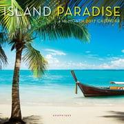 Island Paradise Mini Wall Calendar