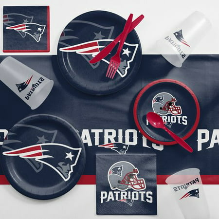 New England Patriots Game Day Party Supplies Kit