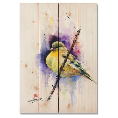 Daydream Sig Series Gold Finch Indoor Outdoor Wall Art
