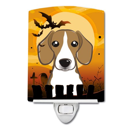 Halloween Beagle Ceramic Night Light