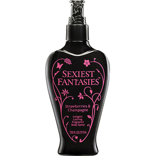 Sexiest Fantasies Strawberries & Champagne Fragrance Body Spray, 7.35 fl oz