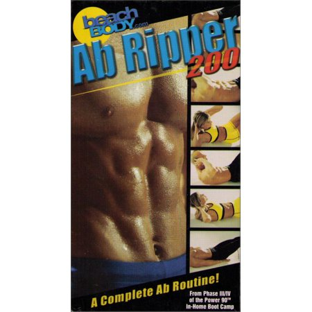 BeachBody Ab Ripper 200 Advanced Phase Tony Horton Exercise VHS Tape