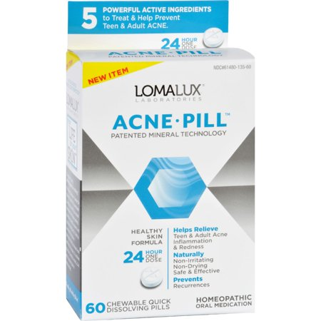 Loma Lux Laboratories Acne Pill   Chewable   Quick Dissolving   60 Count