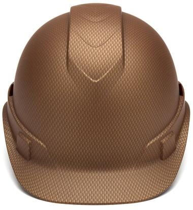 Pyramex Cap Style RIDGELINE Hard Hat Copper Graphite Pattern with 6 Point Ratchet Suspension