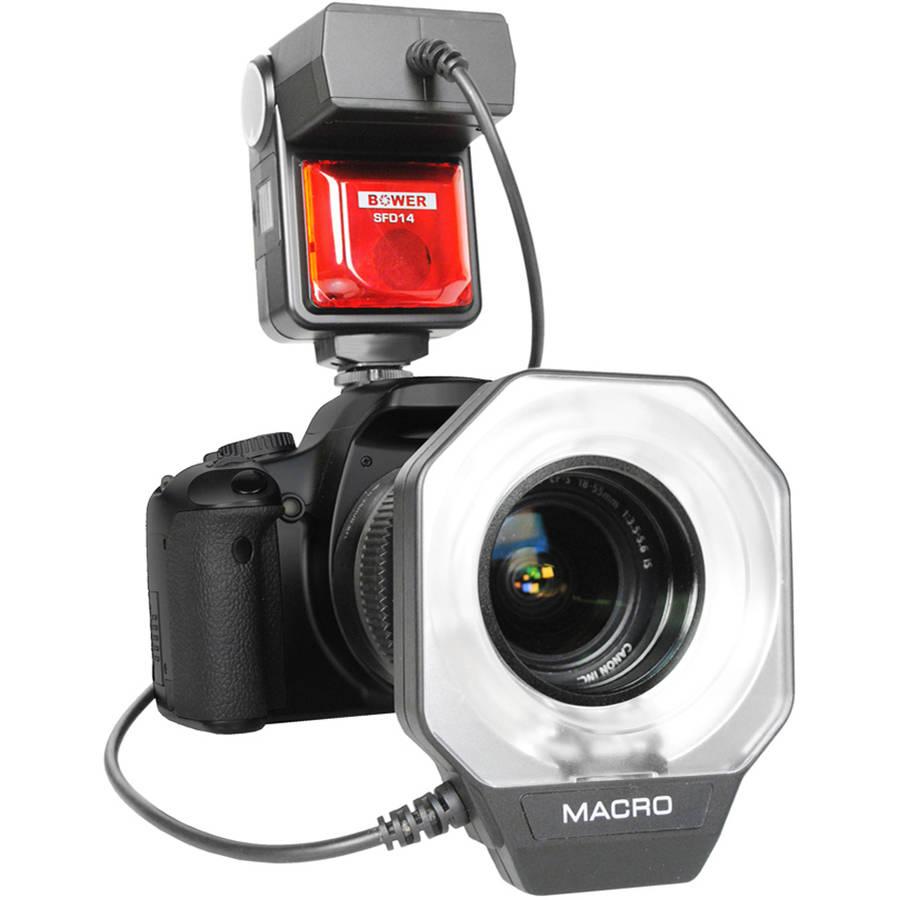 Bower Digital Dedicated e - TTL I / II Ring Flash for Canon EOS Digital Cameras