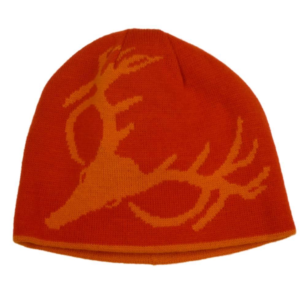 IGLOOS - Igloos Mens Reversible Hat Orange Deer Beanie Hot Shot Stocking Cap  - Walmart.com 5857e94eb47