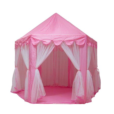 Tents for Girls, Princess Castle Play House Large Outdoor Kids Play Tent for Girls