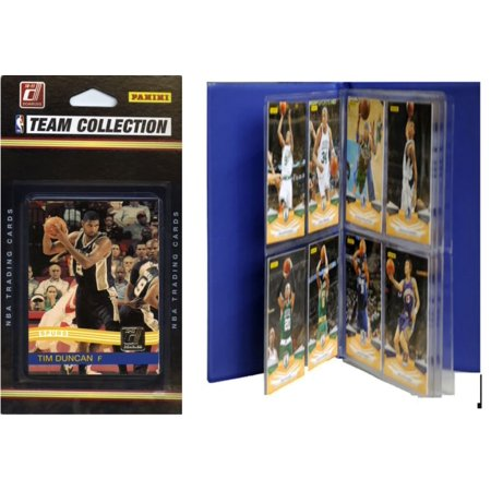 NBA San Antonio Spurs Licensed 2010-11 Donruss Team Set Plus Storage Album](Costume Rental San Antonio)