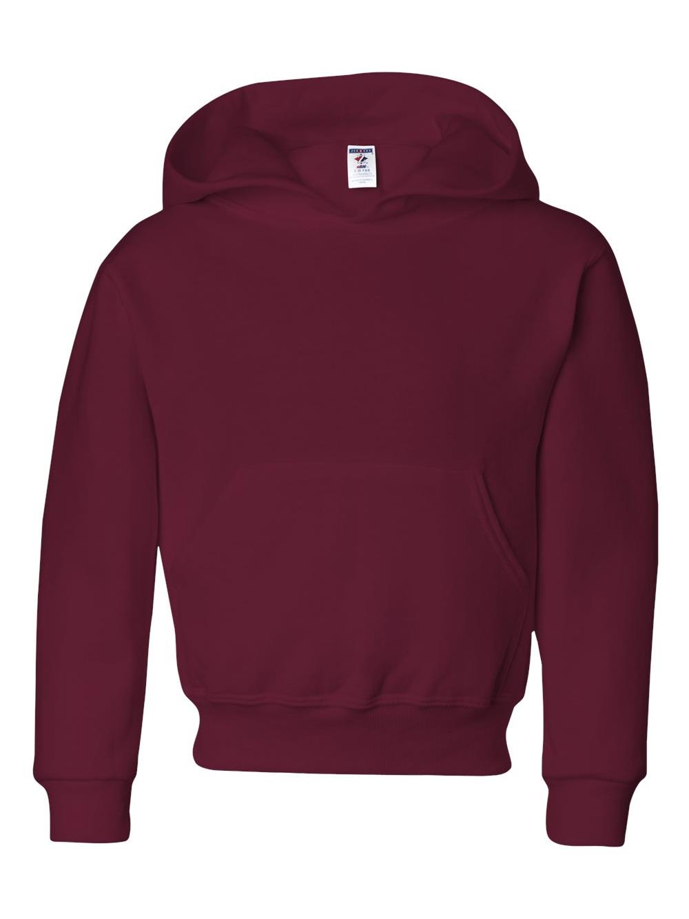 996YR Jerzees Fleece NuBlend Youth Hooded Sweatshirt