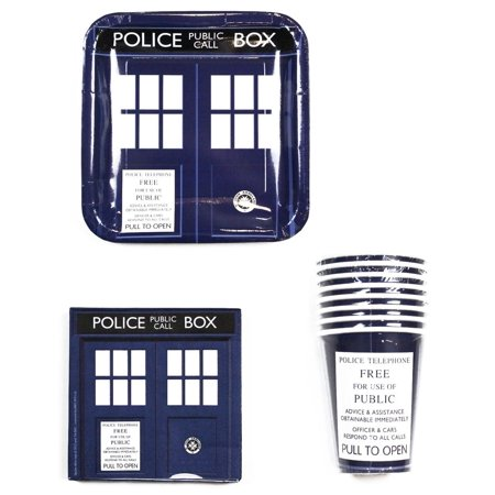 Doctor Who TARDIS Party Set: 9