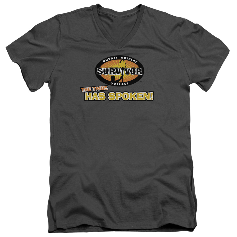 Survivor Tribe Has Spoken Mens V-Neck Shirt