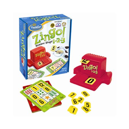ThinkFun Zingo! 1-2-3](Thinkfun Zingo)