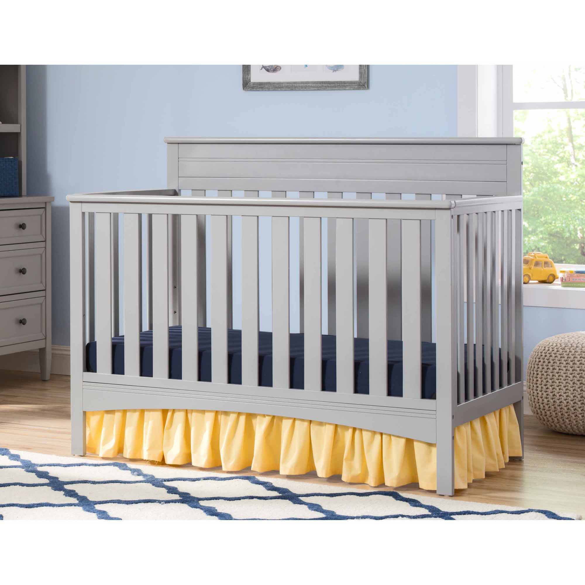 Delta Children Fabio 4-in-1 Crib, (Choose Your Finish)