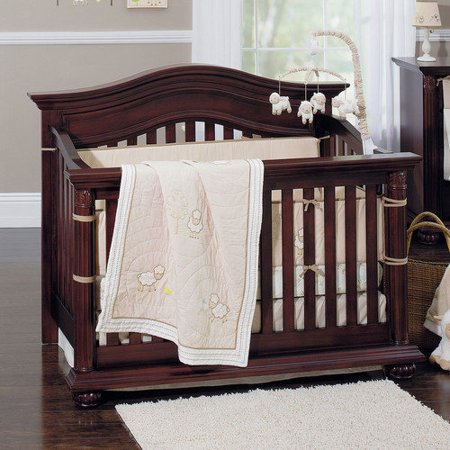 7pc Little Lamb Crib Bedding Set Baby Sheep Comforter Crib