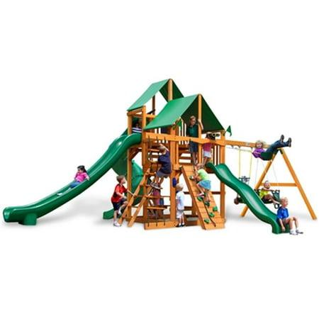 Gorilla Playsets Great Skye Ii Cedar Swing Set With Natural Cedar