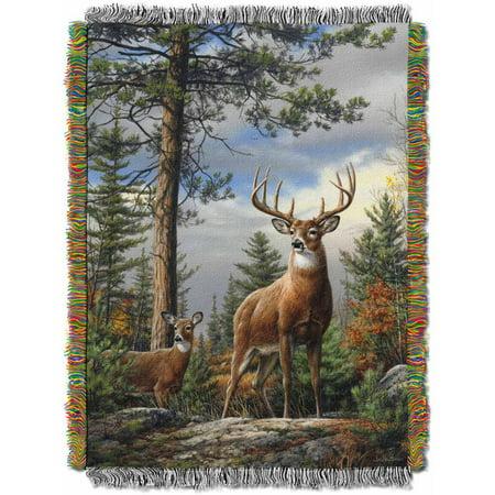 King Stag Deer Tapestry Throw Walmart Com