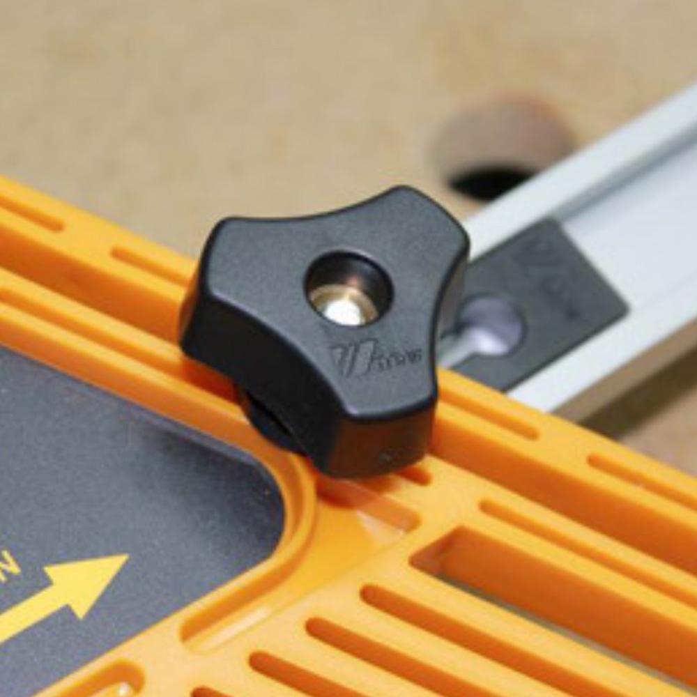 AmandaJ 300mm-500mm T Slot Miter Track Glissi/ère Outil de Fente de BRICOLAGE BOIS