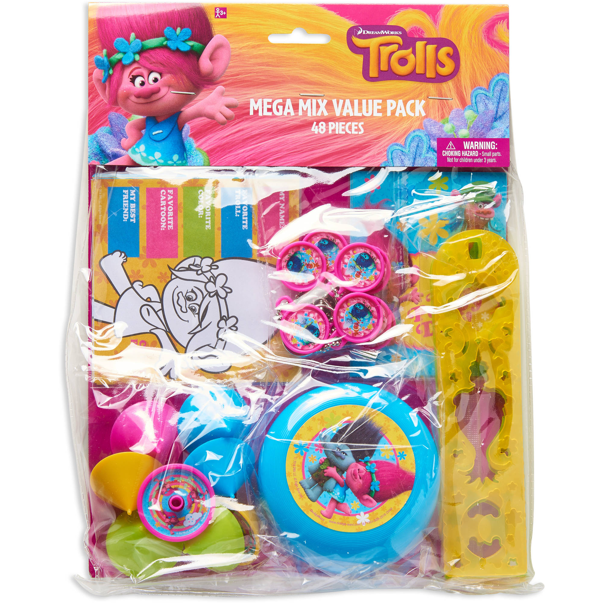 Trolls Party Favor Value Pack 48pc
