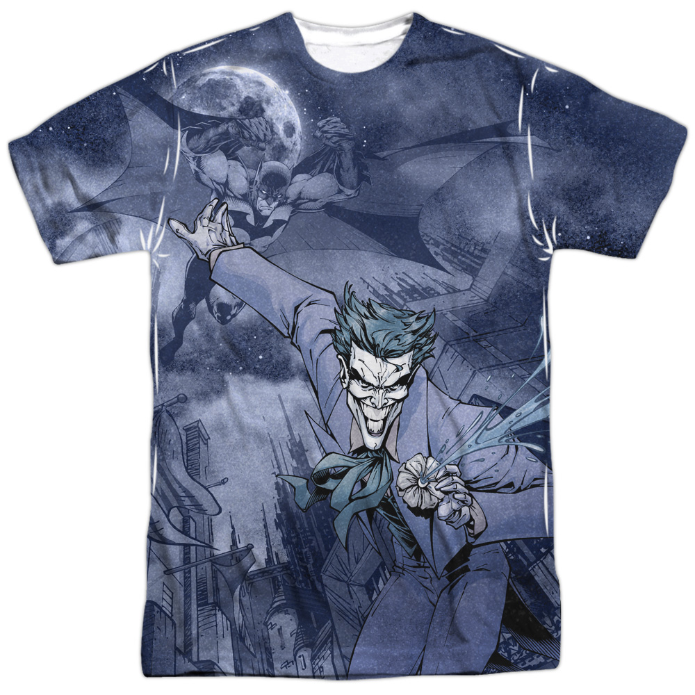 Batman Catch The Joker Mens Sublimation Shirt by Trevco