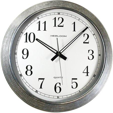 "Artistic, AOP401ZWA, 16"" Galvanized Metal Round Wall Clock, 1"