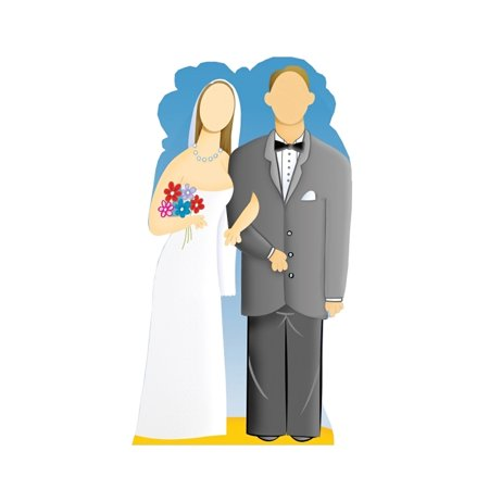 Advanced Graphics 545 Wedding Couple Stand-In- 72