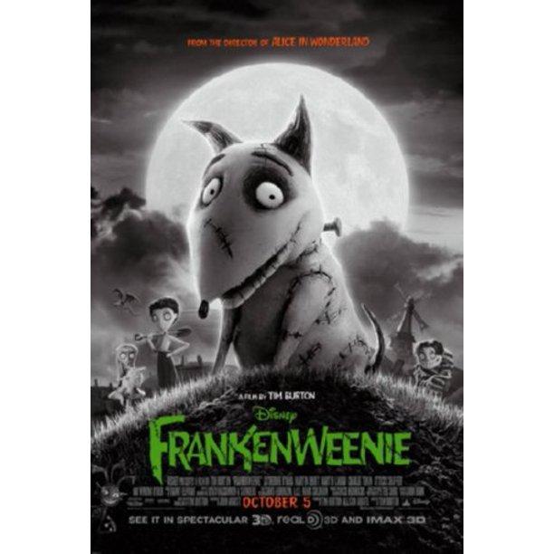 Frankenweenie Movie Poster Metal Print 12 X16 Large Art Print On Metal 12x16 Walmart Com Walmart Com