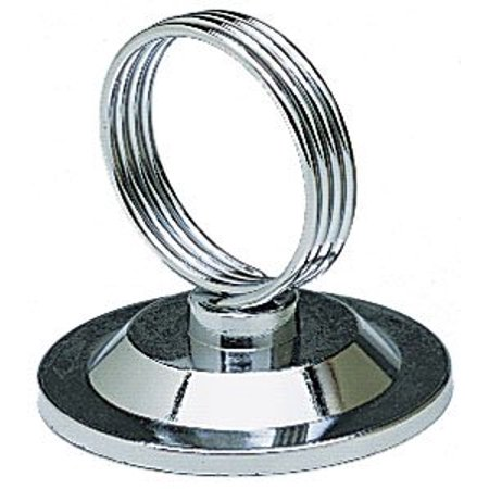 NEW, Ring-Clip Place Cards, Place Card Holder, Menu Holder, Banquet Thle Place Card Holders, Stainless Steel - 1 Dozen