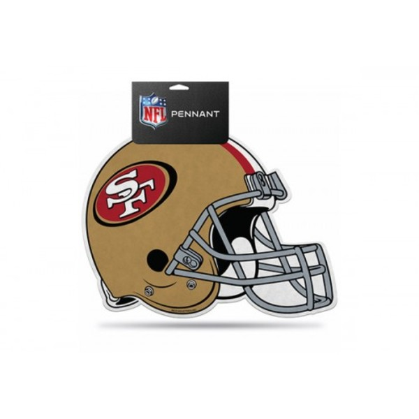 San Francisco 49ers Die Cut Pennant