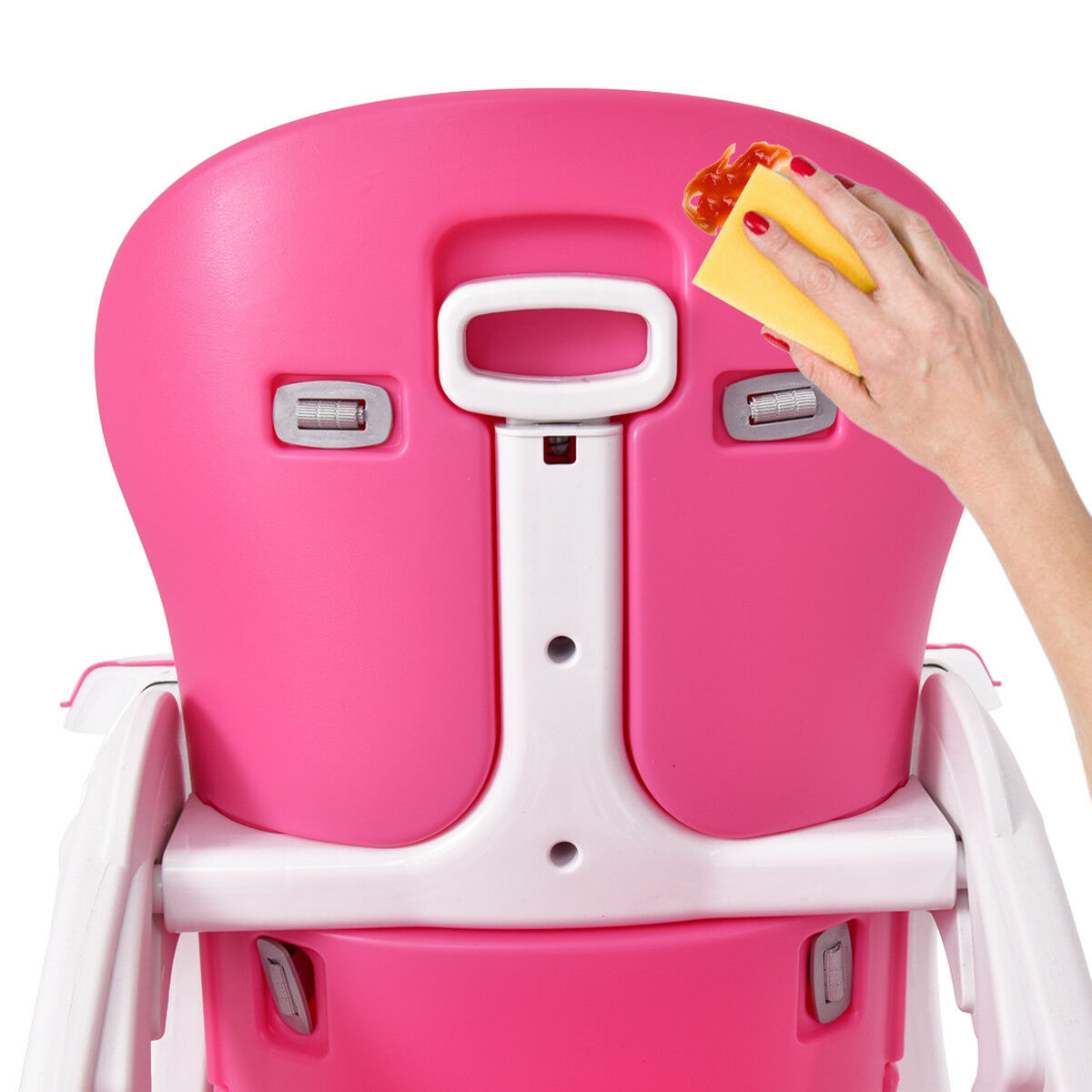 3 in 1 Baby High Chair Convertible Play Table Seat Booster Toddler Feeding Tray - image 6 de 10