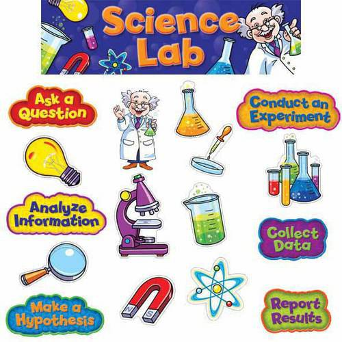 Creative Teaching Press Science Lab Mini Bulletin Board Set