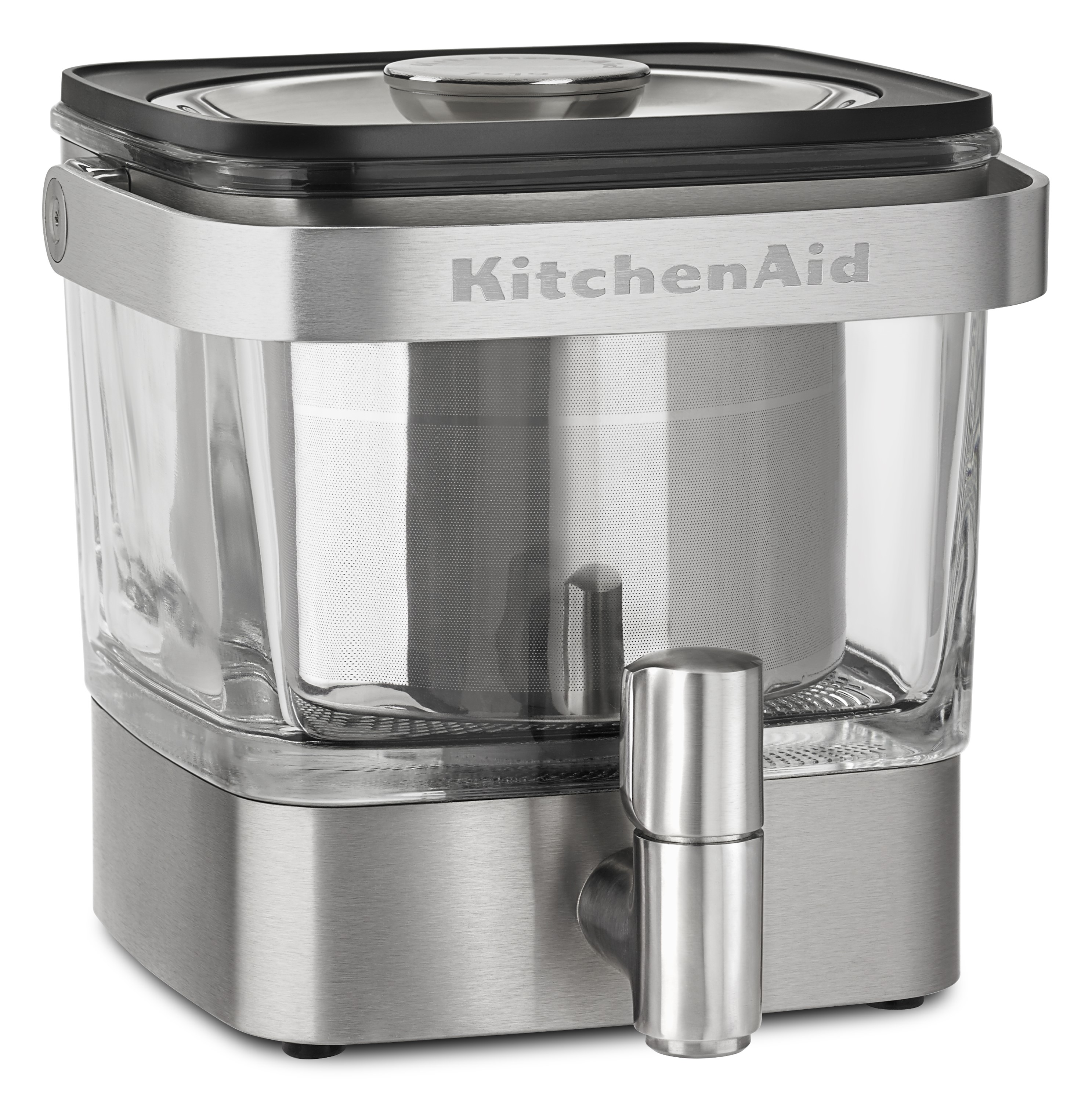 KitchenAid Cold Brew Coffee Maker, Brushed Stainless Steel (KCM4212SX)