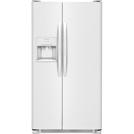 Frigidaire FFSS2615T 36 Inch Wide 25.5 Cu. Ft. Side By Side Refrigerator with (Frigidaire Stainless Steel 1-1 Cu Ft Countertop Microwave)
